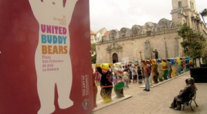 Project United Buddy Bears in Havana. 2015